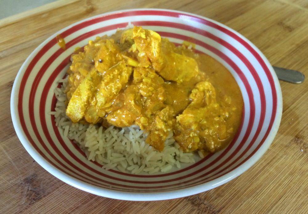 Chicken Tikka Masala mit Kokos